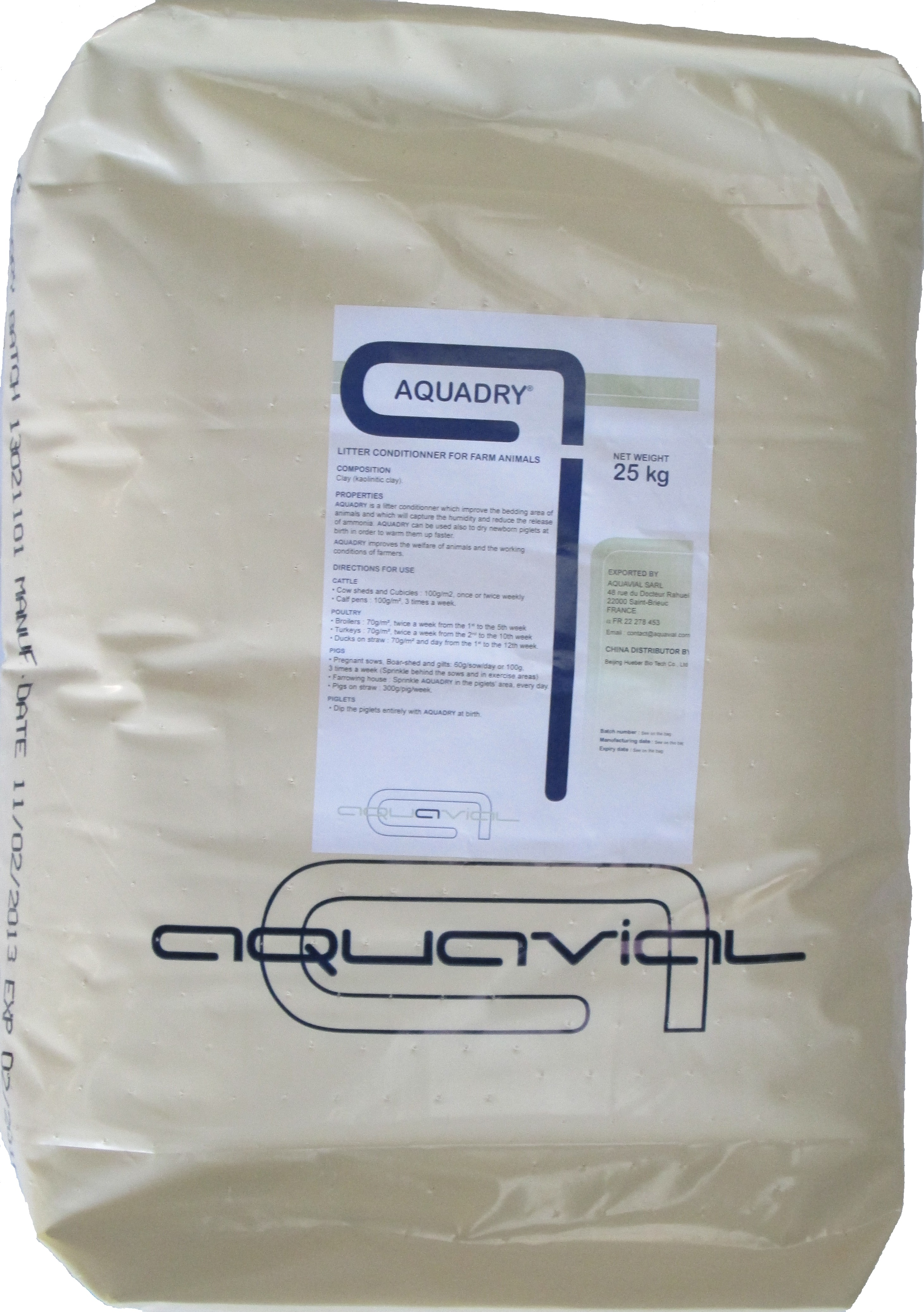 Aquadry - Aquavial litter conditioner for poultry